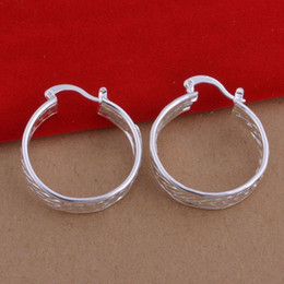 Wholesale European and American trade fashion jewelry plated sterling silver earrings handmade earrings spot network