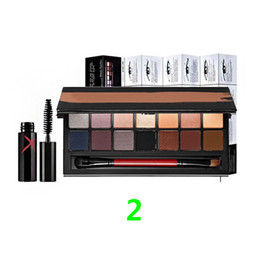 Wholesale New Makeup Eyes Smash Full Exposure Palette And Double Exposure Palette Colors Eye Shadow Mascara