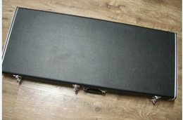 Double neck Guitar Case Black Hardcase Follow with guitar for sale, not sold separately,do not pay for only a case