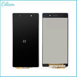 Wholesale 1 For SONY Xperia Z2 L50W D6503 LCD display Screen replacement with touch screen Digit