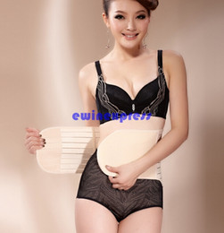 Wholesale Hot top quality Waist Trimmer Stomach Wrap Belt Belly Slimming Postpartum Woman Sweat Weight Loss Body Shaper