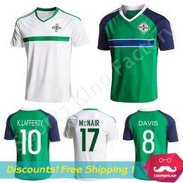 Wholesale Northern Ireland Soccer Jerseys A Best thai quality Northern Ireland football shirt Steven Davis Chris Brunt