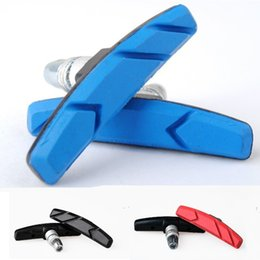 Wholesale brake bike brake pads leather folding mountain bike road bike brake pads Cycling Bike v brake pads B051