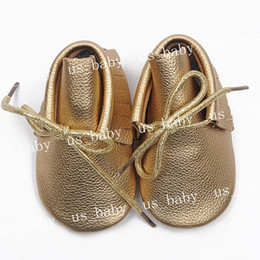 infant new style shoes girl boy genuine leather moccs 2016 solid fringe shoes with Shoestring girl leather prewalker booties 20colors choose