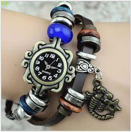 Wholesale New Roman style restoring ancient ways zodiac animals bracelet women s watch