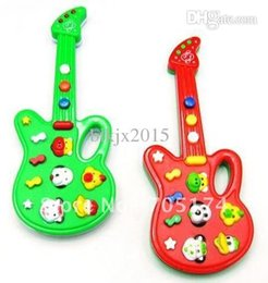 Wholesale Novel Electric guitar music toys Music instrument guitar electronic guitar toys with kid s song