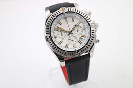 Chronometer Certified Quartz Men's Watch White Face Platinum Bezel& Skeleton Fabric Belt Three Zone Fabric Belt Male Watch Relogio