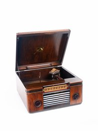 Wholesale Victrola dog brand American victory tube radio rpm phonograph with rare antiques