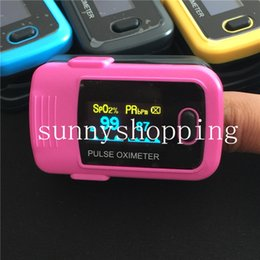 Wholesale Medical Supplies Fingertip Pulse Oximeter Oxymeter SPO2 Oxygen Monitor OLED Display Sound
