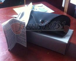 summer new women and men sunglasses box bag case cloth glasses original box free shipping