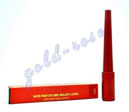 Wholesale USPS Hot NEW Makeup Eyeliner Red Waterproof Eyeliner Liquide Black ML Waterproof GIFT