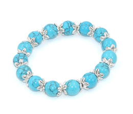 Hot Elegant Beaded Bracelets Turquoise Romantic Trendy Attend A Wedding Party Valentine's Day Gifts For A Girlfriend