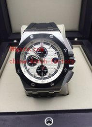 Wholesale Luxury Top Quality Mens Watch Rubber Bands Royal Oak Offshore o clock Stopwatch Swiss ETA Automatic Chronograph Men s Watches