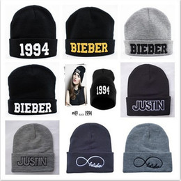 Wholesale-2015 new Beanie JUSTIN BIEBER Beanies hat ,wool winter knitted caps and hats for man and women +free shipping