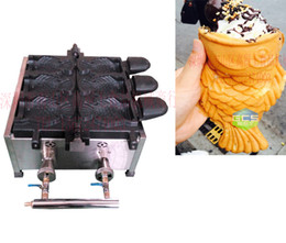 Wholesale Gas type Ice cream Taiyaki machine Fish cone Ice cream maker
