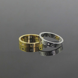 Hot Unique Ring Punk Gold titanium stainless steel Plated Knuckle steel men crystal Rings jewelry for women Finger Ring and men Best Selling