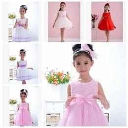 EMS free 2015 Kids Clothing Girls' Dresses Costumes Baby Girl Dress Flower Girls Princess Dresses