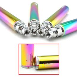 Vision Spinner Rainbow Battery Electronic cigarettes eGo C Twist 650mAh 900mAh 1100mAh 1300mAh variable voltage 3.3-4.8v ego twist vape pens