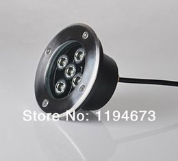 Wholesale-DHL Free shipping 5x2W LED underground light, waterproof led ground lamp CE Certificate