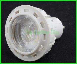 Wholesale New factory price cob spot light gu10 aluminum led bulbs W spotlights good heat dissipation white led ceiling lights