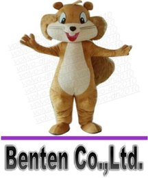 Wholesale Fancytrader Real Pictures Deluxe Squirrel Mascot Costume Mouse Mascot Costume LLFA2268