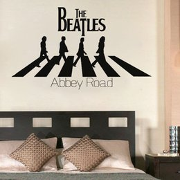 Wholesale Famous Band Vinyl Wall Sticker Home Decor Adhesive Modern Wall Decals Removable Waterproof