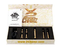 Wholesale Trippy Stix vaporizer Kit dry herb wax vaporizer pen CHAINZ Artist Vaporizer In Kit Electronic Cigarette