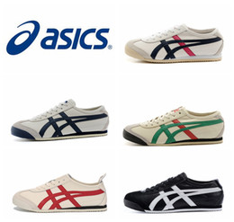 Wholesale New Style Asics Tiger Running Shoes For Women Men Comfortable Leather Zapatillas Athletic Outdoor Sport Sneakers Eur