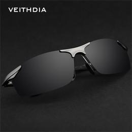 Wholesale-VEITHDIA 6529 Magnesium Aluminum Polarized Sunglasses Men Sports Sun Glasses Driving Mirror Goggle Eyewear Male Accessories