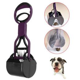 Wholesale Dog Pet Pooper Scooper Long Handle Jaw Poop Scoop Clean Pick Up Animal Waste