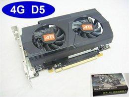 Wholesale Brand Skytanyung real G DDR5 ATI graphics card AMD Radeon HD video card VGA card bit DVI HDMI VGA drop