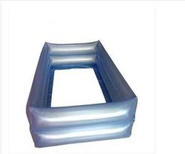 Wholesale Baby inflatable fence fence babies learn to climb the crawling mat playpen inflatable safety barrier