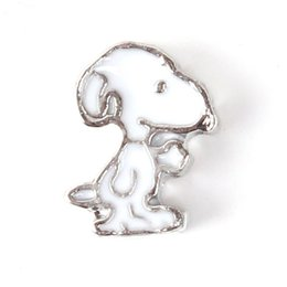 Wholesale Best Selling New Floating Lockets Charms Animal Cute Puppy Charms For Glass Lockets