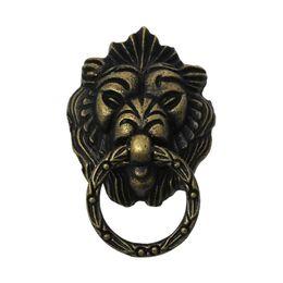 Wholesale Jewelry Wooden Box Pull Handle Knobs Dresser Drawer For Cabinet Door Lion Antique Bronze cm x4 cm new