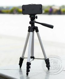 Wholesale-2015 New WT-3110A digital camera DV Camcorder portable tripod lightweight tripod+Mobile phone clip holder