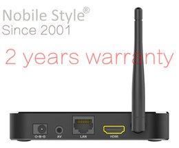 Wholesale 1pcs Customized years warranty Android5 Android6 Marshmallow Smart IPTV OTT TV boxws Amlogic S905 S905X A53 gb GB metal case T95