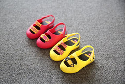 New Children Shoes Hot style jelly shoes First Walker For Boys Girls Famous Brand Sneaker Breathable Baby Kids Shoes size:26-36