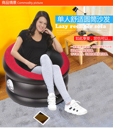 Wholesale new arrival indoor and outdoor inflatable sofa classic person sofa arm chair inflatable sofa cm
