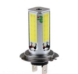 Wholesale LED White Light Car Foglight Steering Light Headlamp Auto Bulbs V High Power H7 W lm K
