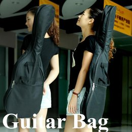 Portable Waterproof Gig Bag Carry Case Strap For Electric Acoustic Guitar Bass Universal Guitar Bag Case