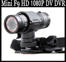 Wholesale Mini F9 MP HD P Aluminum Waterproof Sports Action DV Camera Video Camcorder Car DVR Degree Wide Angle Lens AT F9