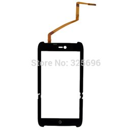 Wholesale For Motorola AtRIX HD MB886 front outer glass touch screen with digitizer with track no