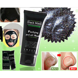 Wholesale-Deep Cleansing Purifying Peel Off Mud Blackhead Face Mask Black Mask Remove Black Head Makeup Beauty
