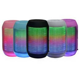 MY500BT Mini Bluetooth Wireless Speaker Portable Stereo Speakers 3D Sound Subwoofer With Colorful LED Lights Support TF Card U Disk