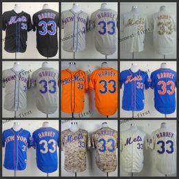 Wholesale new york mets matt harvey Cheap Wholesales Baseball Jersey Embroidery Name and Logo EME DHL