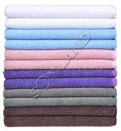 Wholesale 120PC cmx30cm Microfiber Cleaning Cloth Glass Towel Window Rags Microfibre Ultra Absobent Towels