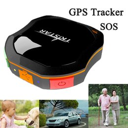 Wholesale Vehicle Car Mini Tracker TKSTAR Tracking System Waterproof GPS Tracker GSM AGPS for Children Parents Pets Cars SOS communicator