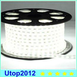 Wholesale 2016 Promotion M AC V SMD Flexible LED Strip Light LEDs Meter Waterproof IP65 EU US Plug