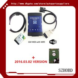 Wholesale NEW GM MDI WORK Vauxhall Opel MDI Tech OEM Level Diagnostics GM MDI TECH wifi card version HDD