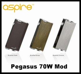 Wholesale Authentic Aspire Pegasus w box mod latest mod Automatic display adjustment mod VS istick w sigelei w tc mod